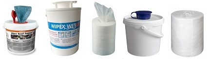 Reinigungstücher, Spendereimer