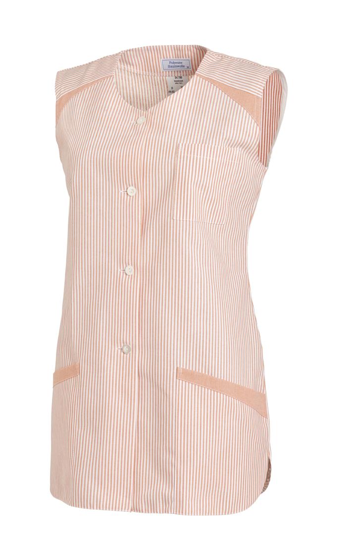 LEIBER-Jobwear, Hosenkasack, Arbeits-Berufs-Kasack, ohne Arm apricot