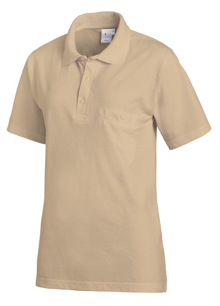 LEIBER-Jobwear, Poloshirt, Arbeits-Shirt, 1/2 Arm, sand