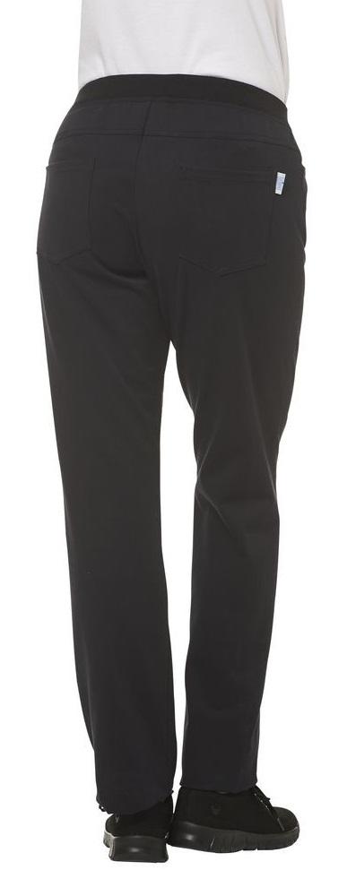 LEIBER-Jobwear, Damen-Arbeits-Berufs-Hose, Bundhose, 230 g/m², schwarz