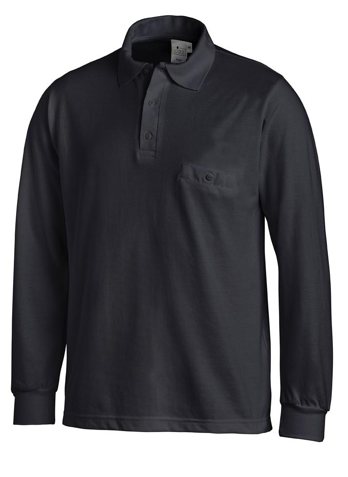 LEIBER-Jobwear, Poloshirt, Arbeits-Berufs-Shirt, 1/1 Arm, marine