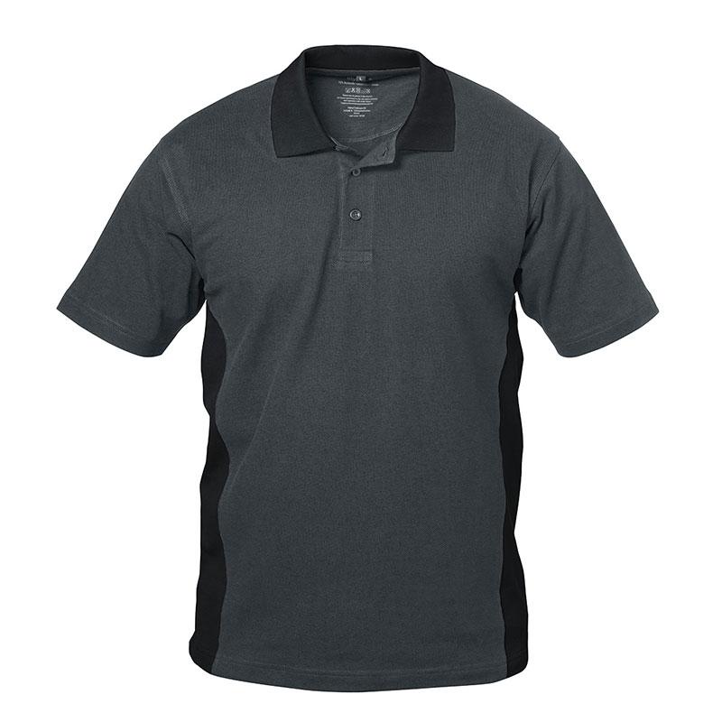 F-ELYSEE Polo-Shirt GRANADA grau/schwarz