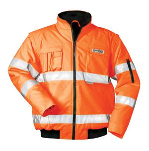 F-SAFESTYLE-Warnschutz, Warnschutz-Piloten-Warn-Jacke TOM