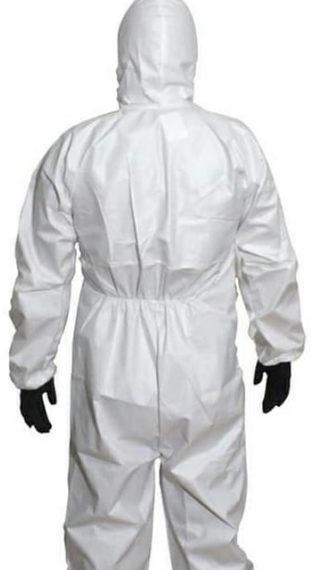 Einweg-Schutzanzug Overall nach EN14126 Kategorie 3 Typ 5/6 laminiert (nicht steril) Schutzanzug gegen Infektionserreger