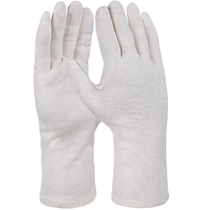 UNIVERSAL-Baumwoll-Trikot-Handschuh, natur,schwere Qualität, gesäumt, VE = 1 Paar