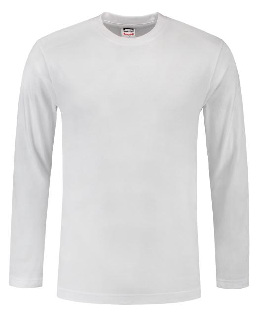 TRICORP-T-Shirts, langarm, 190 g/m², weiß