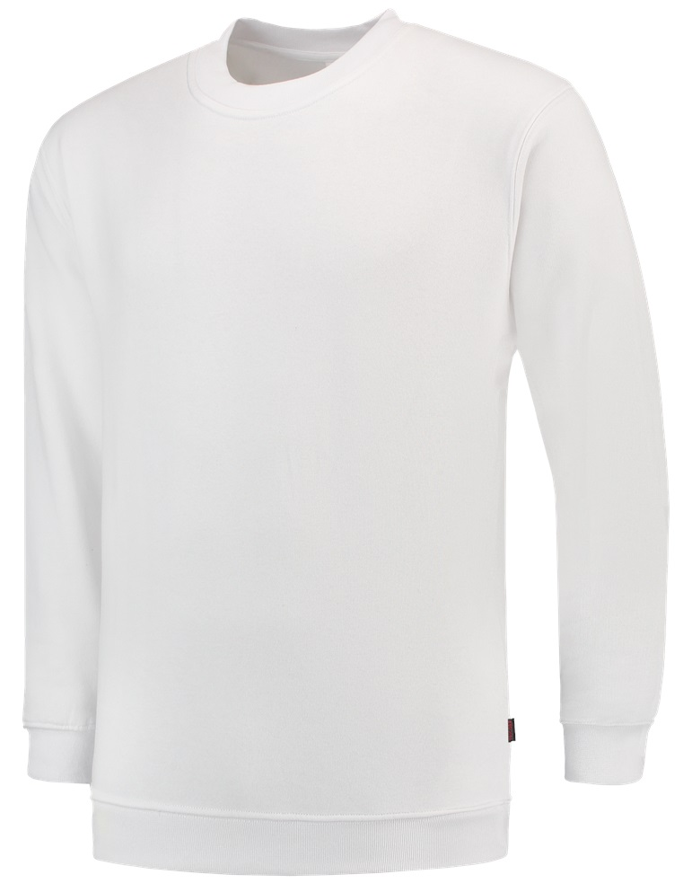 TRICORP-Sweatshirt, Basic Fit, Langarm, 280 g/m², weiß