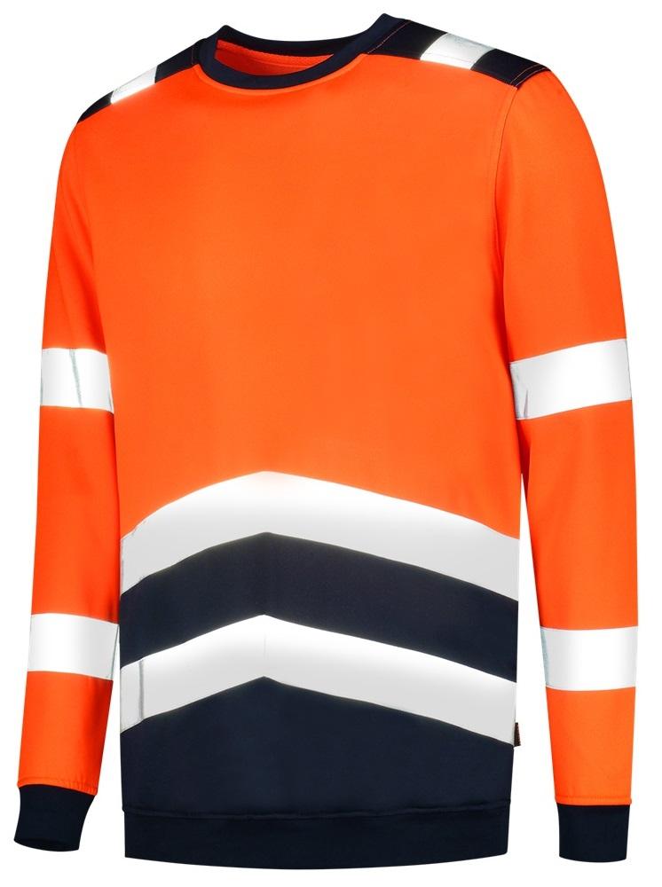 TRICORP-Warnschutz-Sweatshirt, Bicolor, 280 g/m², orange-ink