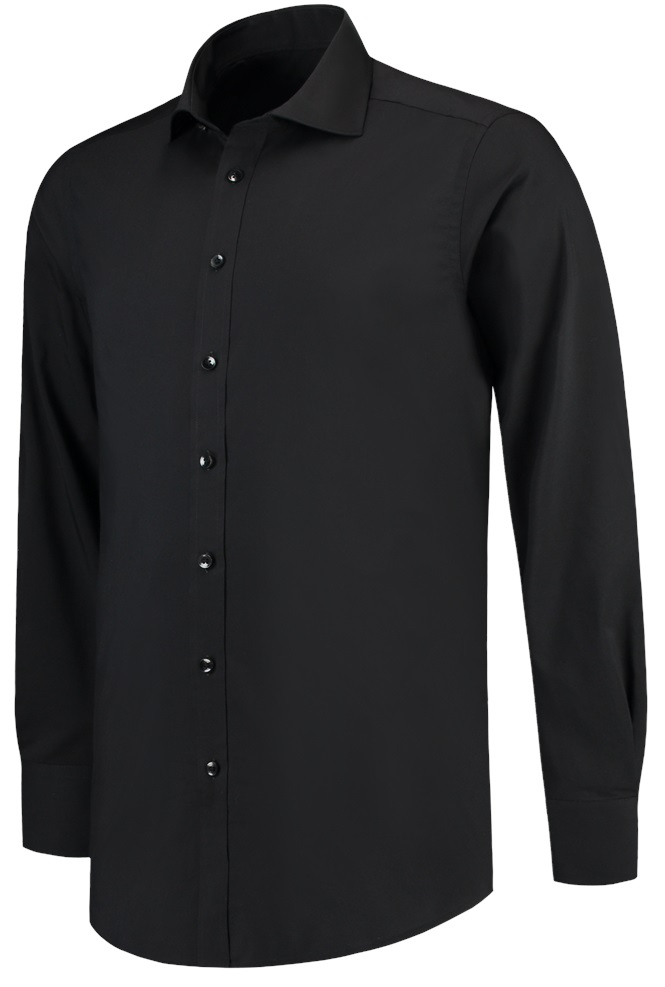 TRICORP-Hemd Stretch, Slim Fit, 110 g/m², black