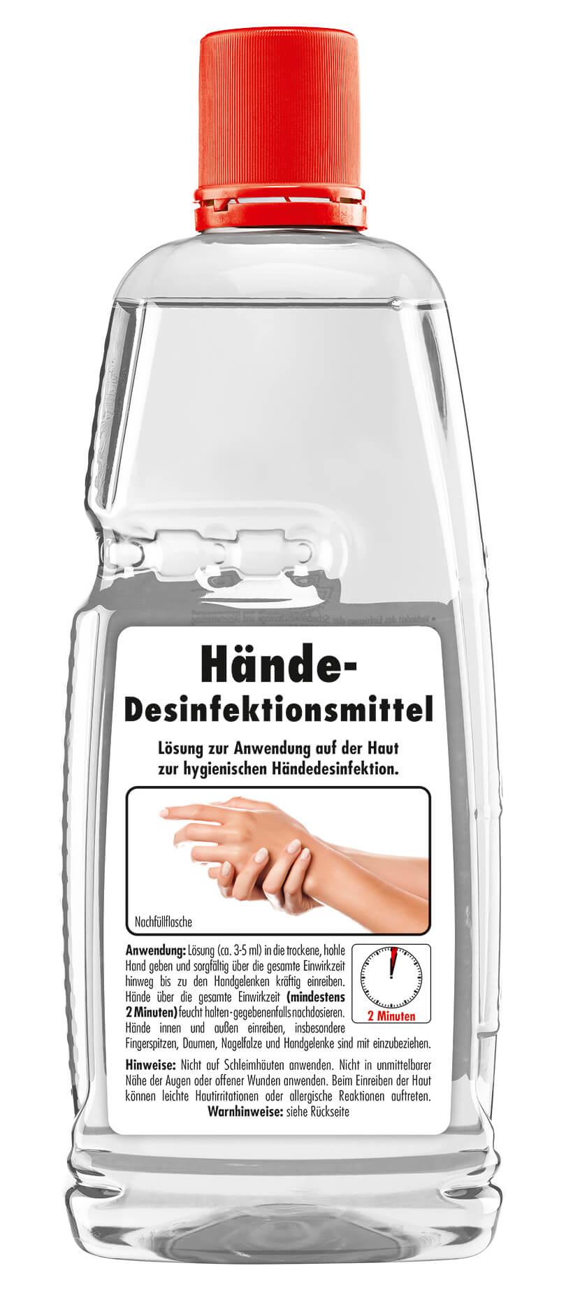 Sona Händedesinfektion - Hand-Desinfektionsmittel, 1000 ml